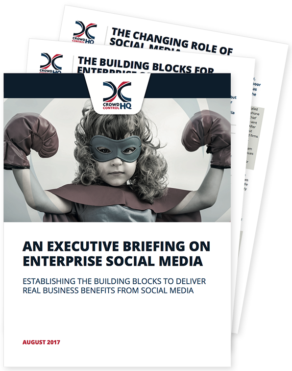 Enterprise Social Media Executive Briefing