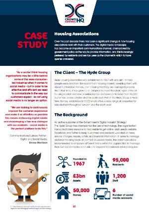Hyde Housing Case Study