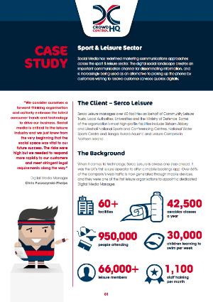 Serco Leisure Social Media Case Study