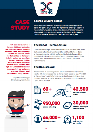 Serco Leisure Social Media Case Study