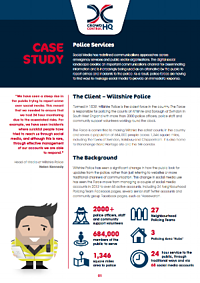Wiltshire Police Case Study