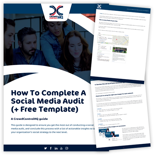How To Complete A Social Media Audit, With Free Template